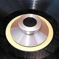 LP Vinyl Turntables Disc Stabilizer Stainless Steel Clamp Record Weight Silver