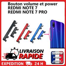 bouton latérale XIAOMI REDMI NOTE 7 pro Touche volume power on off button side