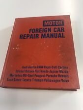 Motor Foreign Car Repair Manual. Audi-Austin-BMW-MG-Triumph and Others