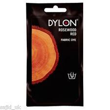 DYLON tissu et vêtements main dye 50g-Poisson Rouge Orange-FREE P&P
