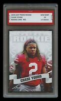 CHASE YOUNG 2020 / '20 LEAF PRIZED 1ST GRADED 10 ROOKIE CARD WASHINGTON REDSKINS