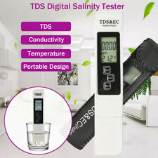 Digital Tester/Meter for Salt Water Pool & Fish Pond Well Water Fresh Test Usa
