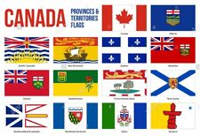 3FT X 5FT FLAGS CANADIAN PROVINCES & TERRITORIES 100% POLYESTER CHOOSE YOUR FLAG