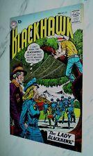 Blackhawk #133 VF+ 8.5 White pages 1959 DC 1st Lady Blackhawk appearance
