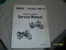 Yamaha FZR750RT/1000T U.S Service Manual