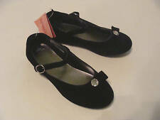 Gymboree Classic Holiday Girls Size 7 Black Shoes NEW
