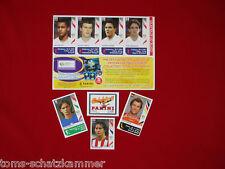 Panini WM 2006 Update Barreto, Inzaghi, Lehmann, Englandbogen, Briefmarke WC 06