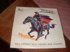 "ZIG-ZAG ENSEMBLE "" ZORRO "" SIGLA TV ITALY'77"