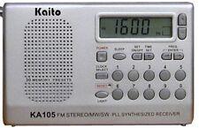 Kaito KA105 Digital PLL AM FM Shortwave Worldband Radio