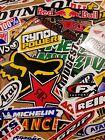 Lot Set of 20 Motorcycle Motocross Decals Stickers Racing ATV UTV Dirtbike