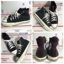 Vintage Converse Chuck Taylor Made In Usa 80s WOOL 2 Tone Mens Size 7 RARE