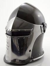 Medieval Knight Deluxe Italianstyle 15Th Century Barbute Helmet Costume Armor