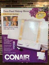 Conair-The Illumina Collection 3 Panel Makeup Mirror With 4 Light Settings