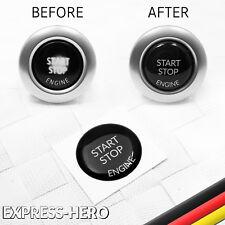 Start Stop Knopf Reparatur Ersatzteil Aufkleber BMW E90 E91 E92 E60 E61 E84 E70