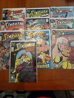 Starman Comic Book lot of 10 Issues DC Comics vintage