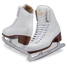 New Jackson Excel Women's Ice Figure Skates White Pvc Foam Mark 2 Blade 7 Us 38