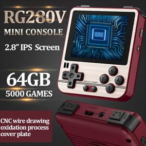 "Anbernic RG280V Retro Handheld Mini Game Console 2.8"" IPS Screen Pocket Player"