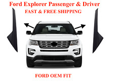 11-19 Ford Explorer Windshield Outer Trim Pillar Molding Passenger & Driver Side