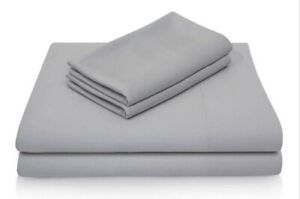 Luxury Bamboo Sheets in Ash (Gray) by Malouf Fine Linens