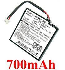 Batterie 700mAh Pour TOMTOM 4EH44, Via 120, Via 125, Via Live, Via Live 120