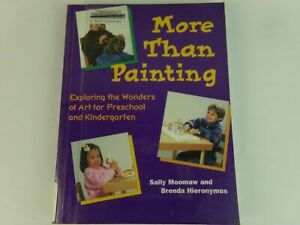 More Than Painting by Moomaw and Hieronymus Paperback Book Ex- Library 1999