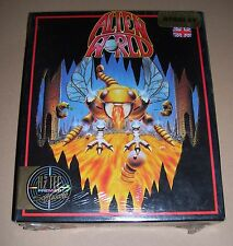 NEW Atari 520 1040 ST Mega ST computer console game Alien World BOXED SEALED