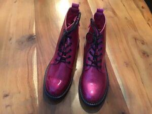 Coole Boots von Catwalk, pink mit Glitzer, neu, Gr.40