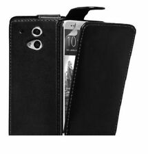 HOUSSE ETUI COQUE CUIR LUXE A RABAT HTC ONE M8
