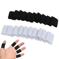 10* Finger Sleeve Sports Basketball Support Wrap Elastic Protector Brace GuarYB