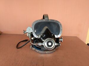 AQUADYNE Model DMC-7 commercial deep sea diving helmet vintage
