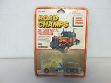 Road Champs Model Kenworth Truck (yellow)