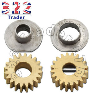 Ice Cream Gears & Liners Set For Maria Pump - Brass Gears - 12 Month Warranty