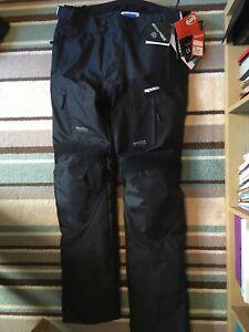 Spada Turini Waterproof Touring Motorcycle Trousers Thermal Motorbike Black 3XL