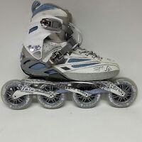 Fila FM 100 Lady silverlight blue Speedskate Damen Fitness Inline Skates Gr. 38