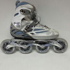 Fila FM 100 Lady silver light blue Speedskate Damen Fitness Skates Gr. 40,5 1035