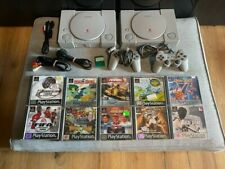 2 x Sony PlayStation 1 PS1 (SCPH-7502 & 9002) inkl 10 Spiele / 2 Controller SET