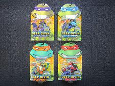 2004 Teenage Mutant Ninja Turtles Deep Divin Turtles - rare set of 4!