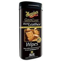 Meguiar's Gold Class Rich Leather Wipes G10900
