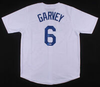 Steve Garvey Signed Los Angeles Dodgers White Baseball Jersey Autographed PSADNA