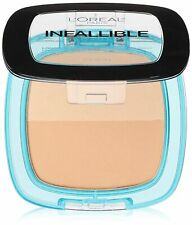 L'Oreal Paris Infallible Pro Glow Pressed Powder #25 Sand Beige NEW! (Pack of 2)