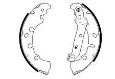 Mintex Rear Brake Shoe Set MFR516  - BRAND NEW - GENUINE - 5 YEAR WARRANTY