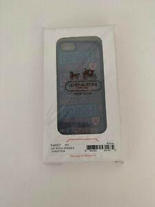 NEW Coach F64557  iPhone 5 5s Signature Case Cover in Box coach