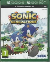 Sonic Generations Microsoft Xbox One / Xbox 360 [SEGA Adventure Hedgehog] NEW
