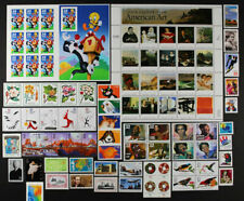US 1998 Commemorative Year Set 87 stamps including Sheets, Mint NH, see scans