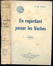 Tancrède de Visan : EN REGARDANT PASSER LES VACHES - 1924