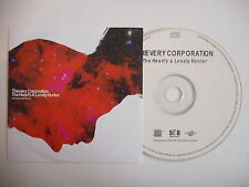 THIEVERY CORPORATION : THE HEART'S A LONELY HUNTER [ CD PROMO ] ~ PORT GRATUIT !