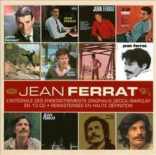 JEAN FERRAT - L'INT'GRALE DES ENREGISTREMENTS ORIGINAUX: DECCA/BARCLAY 1961-1972