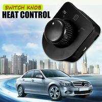 Side Mirror Switch Knob Heat Control For VW Passat B5 Golf MK4 GTI Bettle 98-06