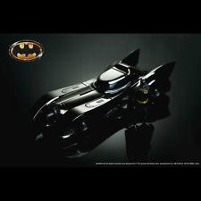 Batman 1989 - Batmobile Chrome Black 1 24 W/batman From Mr Toys