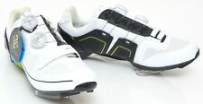 Giant Surge Carbon Road Bike Shoes EU 42.5 US Men 9.5 Black White 3 Bolt BOA Tri